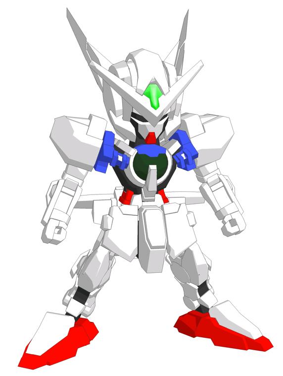 PaperModel SD GNY001 Astraea Gundam