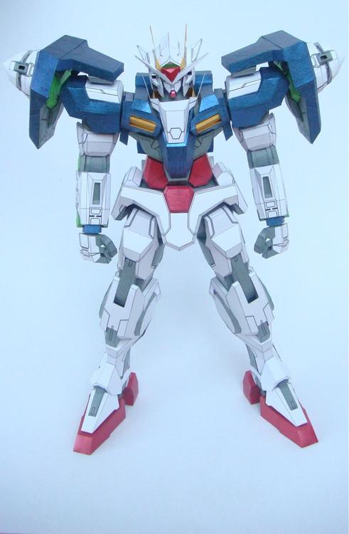 PaperModel Gundam GN-0000
