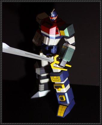 PaperModel GodMars Robot