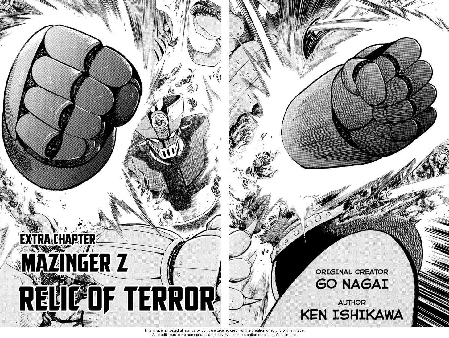 Scan Mazinger Z Relic of Terror