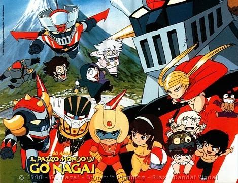 Anime: Il Pazzo Mondo di Go Nagai 1